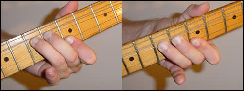 #rd Finger Bend, Above Riff